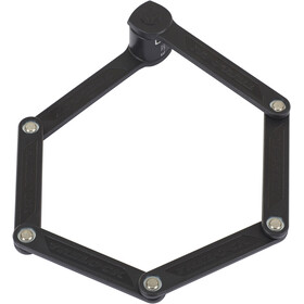Trelock FS 300 Trigo Antivol pliant support inclus, black